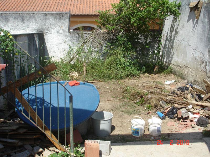Planos pro jardim da área de lazer (1/4)