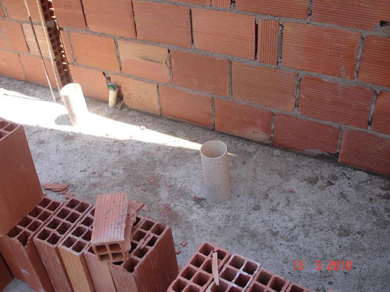 área de lazer  Em construçãoCasa Nova! -> Como Construir Um Banheiro Com Banheira