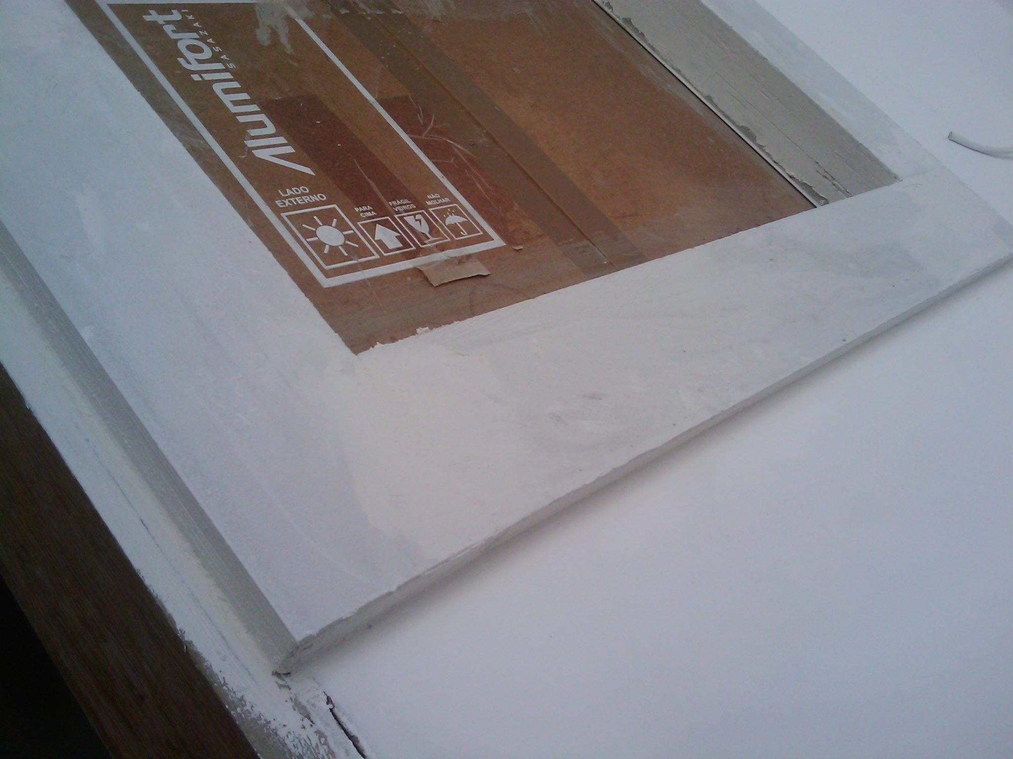 Molduras das janelas Em construção Casa Nova! #624838 2048 1536